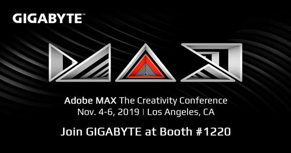 Join GIGABYTE at Adobe MAX, where designers and developers come together!