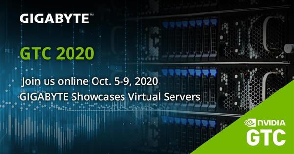 GIGABYTE Showcases Virtual Servers at GTC 2020.